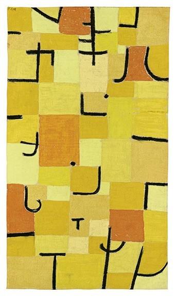 Paul Klee | Zeichen in Gelb, 1937, 210 (U10)
