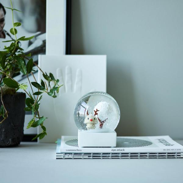 Hoptimist | Small Snowman Globe