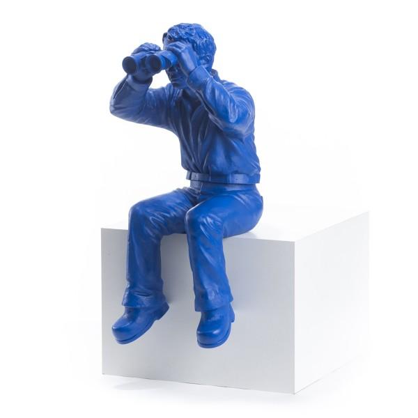 Ottmar Hörl: Weltanschauungsmodell IB, 2006 (blau)