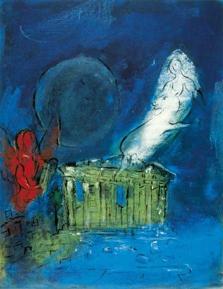 Marc Chagall | TAkropolis, 1952