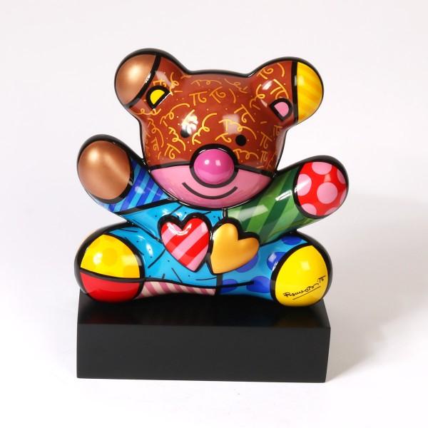 Goebel Truly Yours Bär| Romero Britto Skulptur - gross