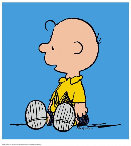 Charles M. Schulz | Charlie Brown - Blue | Handnummeriert