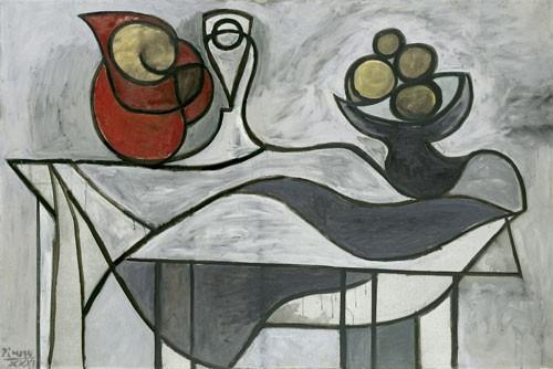 Pablo Picasso | Krug und Obstschale, 1931