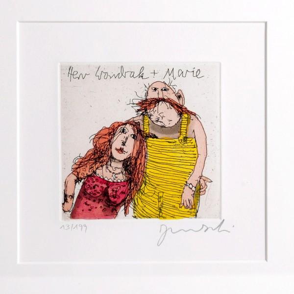 Janosch | Herr Wondrak und Marie im Herbst 98