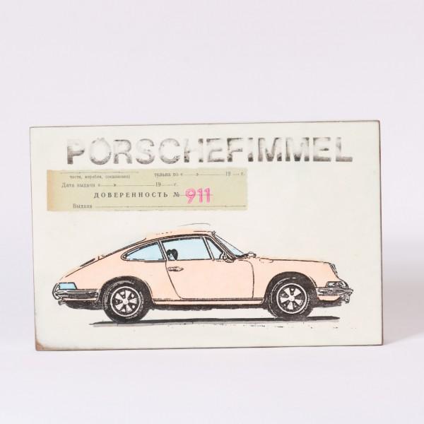 Jan M. Petersen - Porschefimmel (Porsche 911 creme)