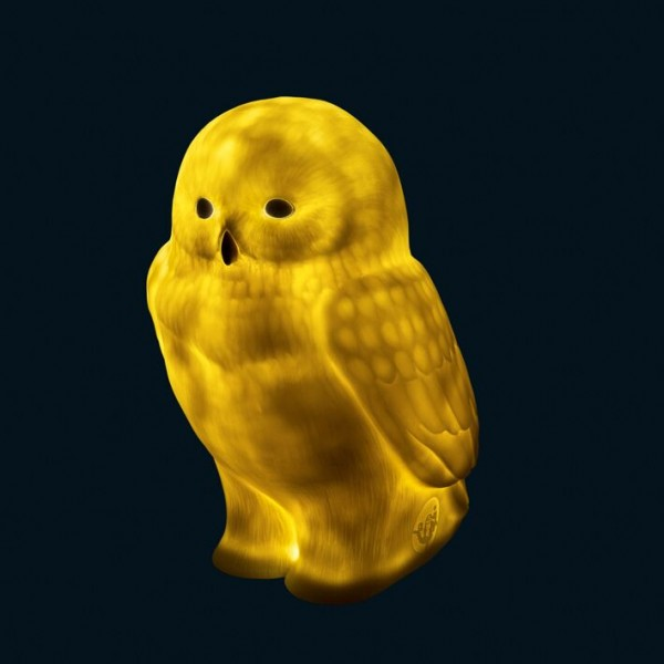 Akira the Owl (Blue Eyes) - Lampe I Goodnight Light