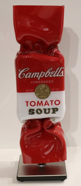 Ad van Hassel | Art Candy Toffee | HOMAGE to Andy Warhol Campbell's