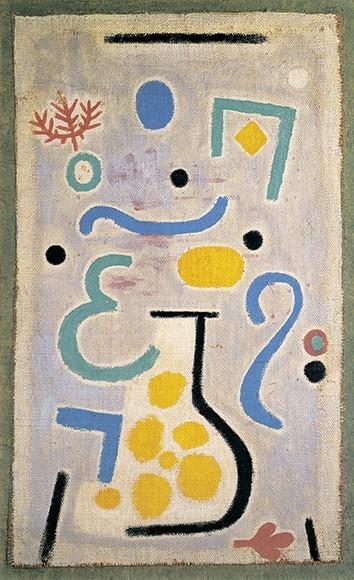 Paul Klee | Die Vase, 1938, 122 (J2)