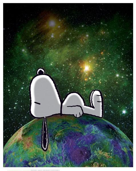 Charles M. Schulz | On Top of the World | Handnummeriert