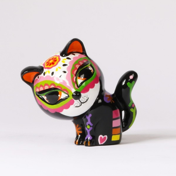 Tisha Cat | orange ears