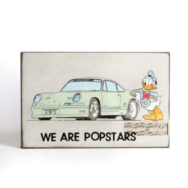 Jan M. Petersen: We are Popstars, Porsche mintgrün mit Donald
