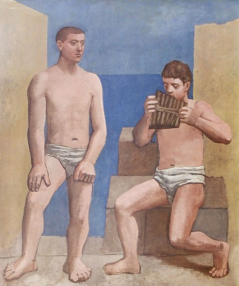 Pablo Picasso | Die Panflöte, 1923