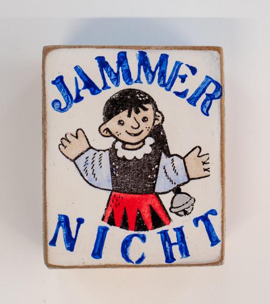 Kati Elm: JAMMER NICHT