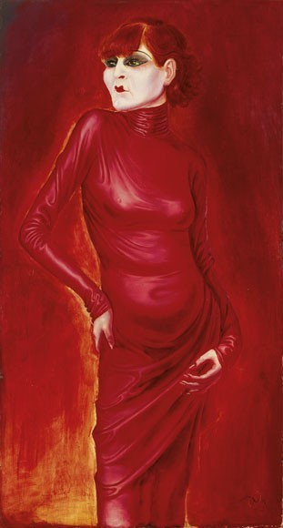 Otto Dix | Bildnis der Tänzerin Anita Berber, 1925
