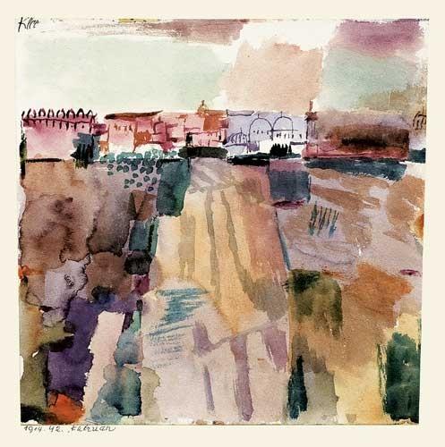 Paul Klee | Kairuan, 1914, 42