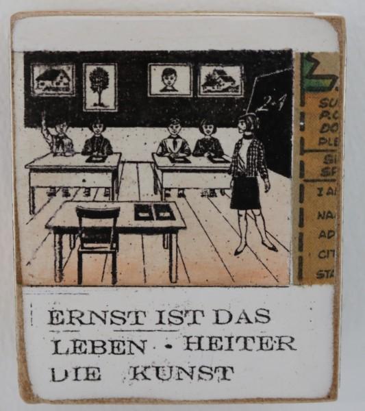 Kati Elm | Ernst ist das Leben heiter die Kunst (Schule) (Mini)