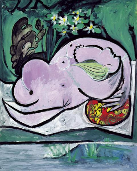 Pablo Picasso | Akt im Garten, 1934