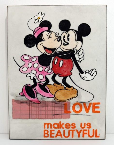 Jan M. Petersen | LOVE makes us BEAUTYFUL (Micky Maus)