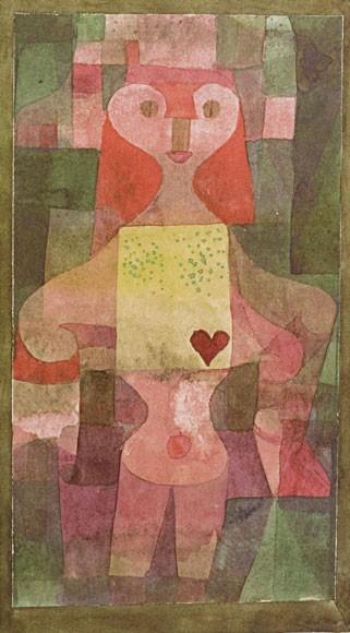 Paul Klee | Herzdame 1922/23