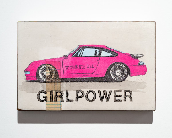 Jan M. Petersen: GIRL POWER, Porsche pink, Auflage 11/12
