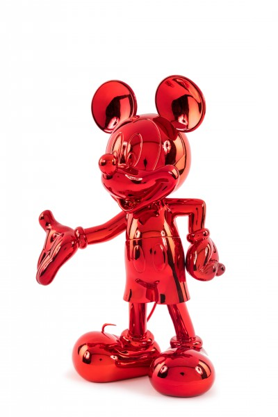 Mickey Welcome: Red Metallic (Rot)