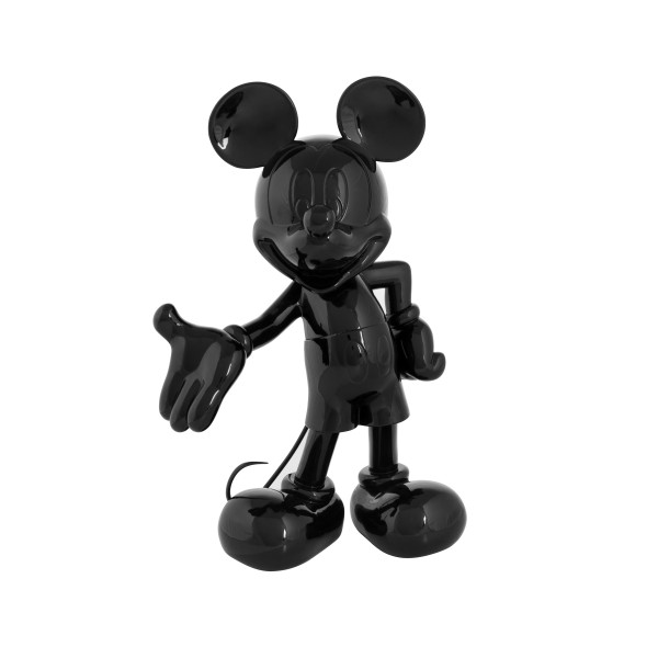 Mickey Welcome: Glossy Black (Schwarz)
