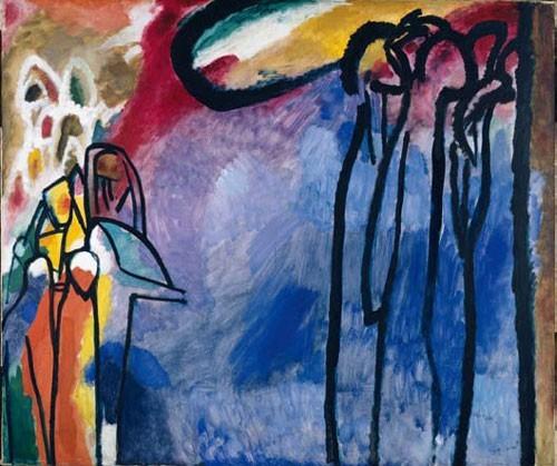 Wassily Kandinsky | Improvisation 19, 1911