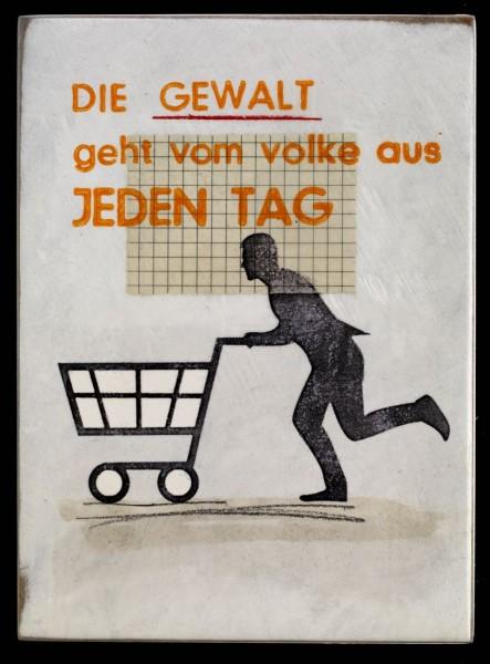 Jan M. Petersen: DIE GEWALT geht vom volke aus JEDEN TAG (männlich)