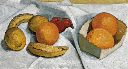 Paula Modersohn-Becker | Stillleben mit Orangen, Bananen, Zitronen und Tomate, 1906