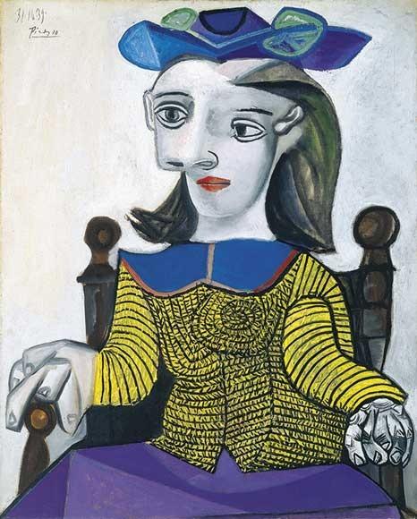 Pablo Picasso | Der gelbe Pullover, 1939