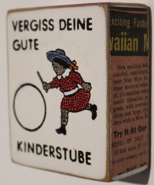 Kati Elm | Vergiss deine gute Kinderstube (Mini)