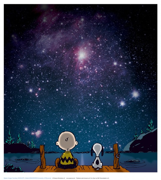 Charles M. Schulz | Stars | Handnummeriert