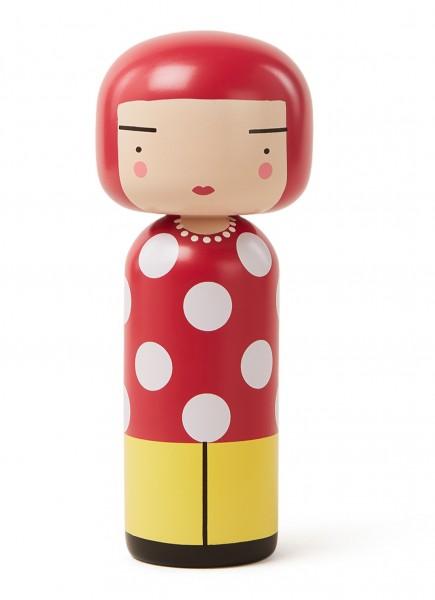 Dot I Kokeshi Doll I Puppe, Design von Becky Kemp, Lucie Kaas