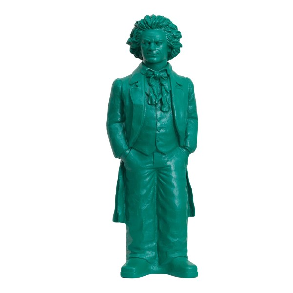 Ottmar Hörl : Ludwig van Beethoven, 2019 (opalgrün)