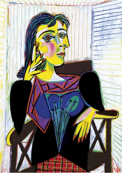 Pablo Picasso | Portrait Dora Maar, 1937