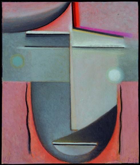 Alexej von Jawlensky | Liebe, 1925
