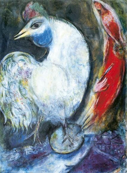 Marc Chagall | Der Hahn
