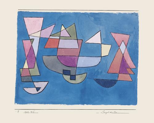 Paul Klee | Segelschiffe, 1927, 225