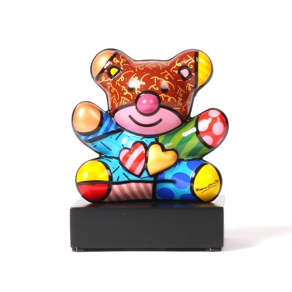 Goebel Truly Yours Bär  Romero Britto Skulptur - klein