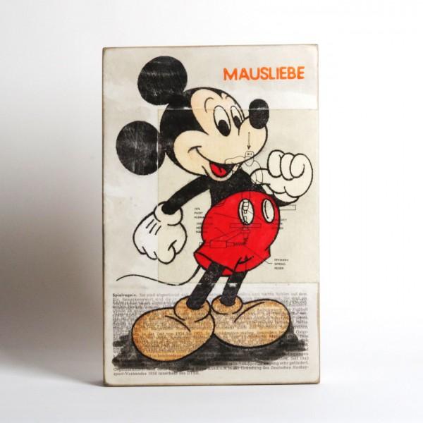 "Jan M. Petersen - "" Mausliebe"" Mickey Mouse"