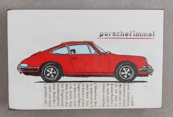 Jan M. Petersen: porschefimmel (rot)