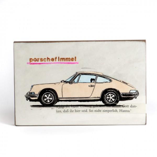 Jan M. Petersen - Porschefimmel - Porsche cremeweiss 2021