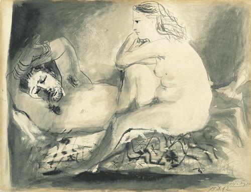Pablo Picasso | Schlafender, 1942