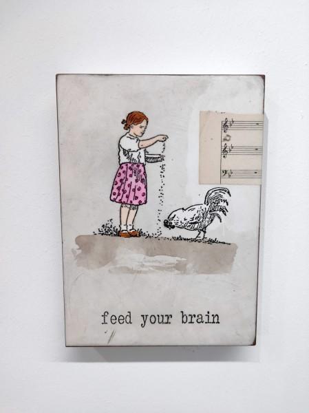 Jan M. Petersen | feed your brain, 2019
