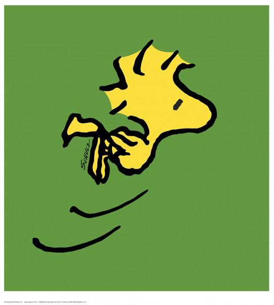 Charles M. Schulz | Woodstock - Green | Handnummeriert