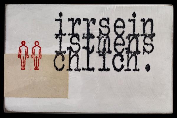 Jan M. Petersen: irrsein ist menschlich