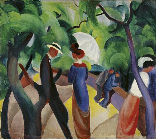 August Macke   Promenade, 1913