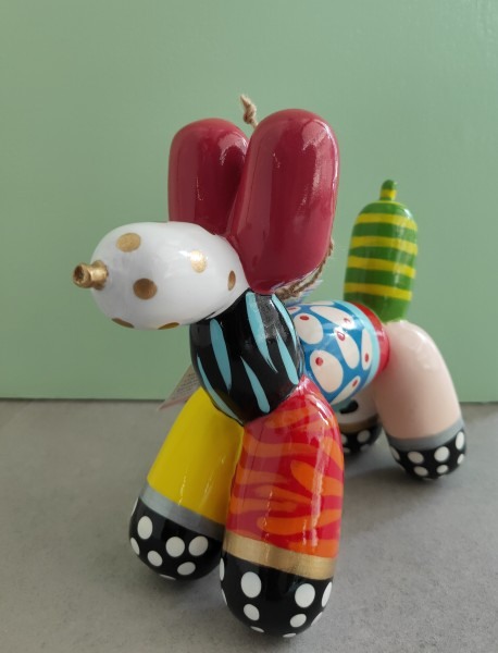 Mia Coppola | Balloon Dog - Vivid | Small, Color A | Skulptur