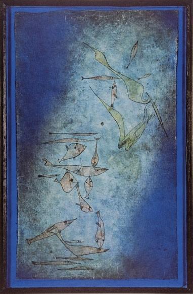 Paul Klee | Höhlenblüten, Fischbild, 1925,5