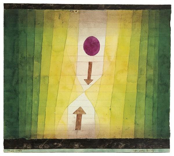 Paul Klee | Vor dem Blitz, 1923, 150